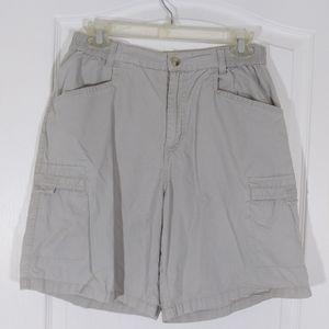 Columbia Women's Beige Tan Cargo  Shorts